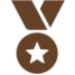 Icon of a medal