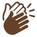 Icon of hands clapping